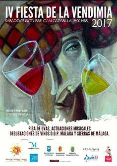Los vinos dulces de la Axarquía, en la Alcazabilla, con exhibición de pisa de uva, degustaciones y pandas de verdiales, el evento se celebrará el sábado 7 de Octubre.     Los vinos dulces de Moclinejo serán protagonistas de la IV Fiesta de la Vendimia, que tendrá lugar en la Alcazabilla malagueña el sábado 7 de octubre.   #moclinejo #noticias #vendimia