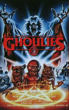Welcome to Ghoulies Wiki! Ghoulies Wiki is a collaborative website about the four horror movies about the little demons that anyone can edit! Horror Movie Posters, 1980s Horror Movies, Horror Icons, Classic Horror Movies, Movie Poster Art, Scary Movies, 80s Movies, Arte Horror, Horror Art