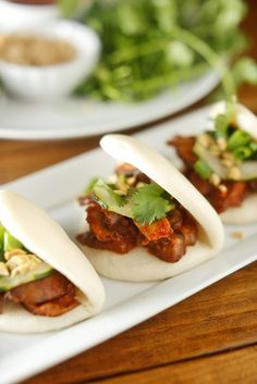 The Chubby Vegetarian: Vegetarian Korean BBQ Mushroom Steamed Buns
