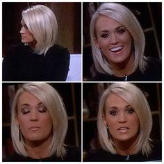Carrie underwood hair!