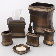 bronze tones... guest bathroom