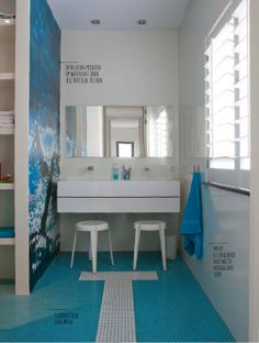 Bathroom design for