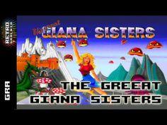 ▶ The Great Giana Sisters - Przegląd Wersji - C64. Amiga. Atari ST, ZX Spectrum, Amstrad - YouTube