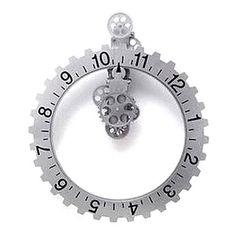 "22""+Stylish+Gearwheel+Wall+Clock+–+CAD+$+123.09"