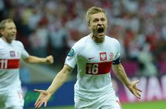 What a belter! Jakub Blaszczykowski scored one of the goals of the tournament against Russia