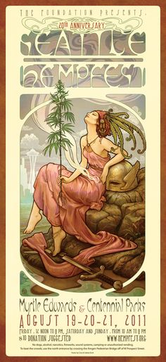 Seattle HEMPFEST® Official Wings Poster