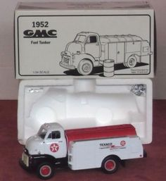 "Rare! First Gear 1952 GMC Fuel Tanker ""1994 Employee Issue"" Texaco #FirstGear #GMC"