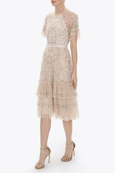 CONSTELLATION LACE DRESS - Dresses - All Womenswear | Contemporary British Clothing