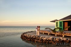 Destination Wedding at Cayo Espanto, Private Island Resort. Photo by Jose Luis Zapata Photography