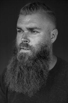 Handsome guy with dope beard. Model: My boyfriend Jonas photo and edit: Sofie Kirkeby / Sofkirke Photography Moustache, Beard No Mustache, Long Beard Styles, Hair And Beard Styles, Great Beards, Awesome Beards, Well Groomed Beard, Beard And Mustache Styles, Bald With Beard