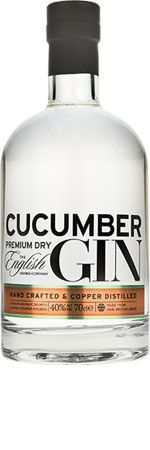 Cucumber Gin is happy to be mixed with coriander sprigs and mint, take the lead role in a gin and tonic or simply to be enjoyed on its own over the freshest of ice.