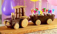 Lustige Torte für Kindergenurtstag