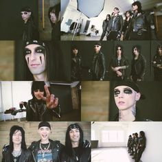 New pics of the BLACK VEIL BRIDES