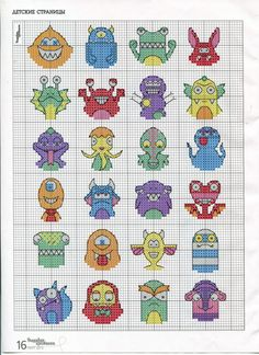 mini monsters - chart / Gallery.ru / Фото #13 - ВК_03(104)_2013 г. - f-morgan