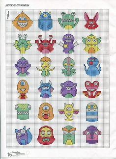 mini monsters - chart / Gallery.ru / Фото #13 - ВК_03(104)_2013 г. - f-morgan