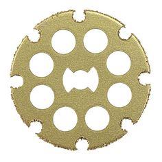 Dremel EZ544 - Disco de Carbureto ideal para cortes retos em madeiras, laminados, MDF e plásticos - Palácio das Ferramentos