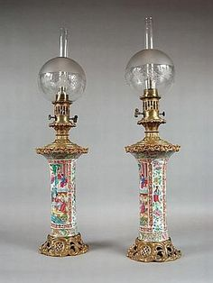 19th century oil lamps  carters.com.au