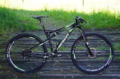 2016 Merida Ninety Six 29er full suspension  XC race mountain bike