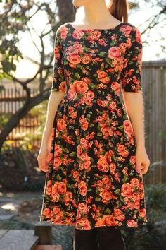 Moneta Dress sewing inspiration