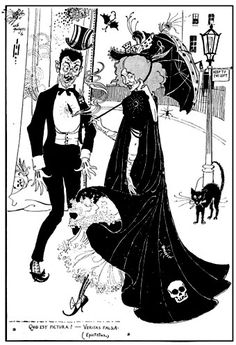 Aubrey Beardsley died at 25. Sight catalogues his imitators