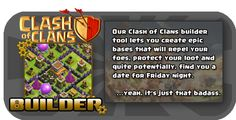 clash of clans builder create a base