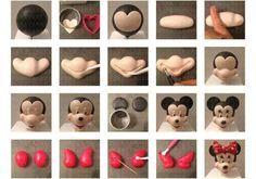 Disney mini mouse fondant tutorial