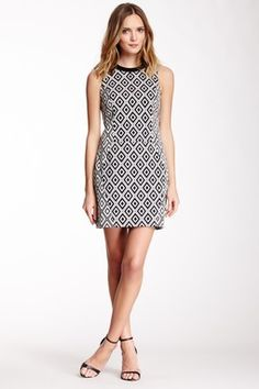 Ali Ro Sleeveless Print Dress