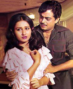 Reena Roy & Shatrughan Sinha in Vishwanath Vintage Bollywood, Indian Bollywood, Hindi Actress, Bollywood Actress, Roy Khan, Reena Roy, Glamour World, Hindi Movies, Funny Pictures