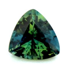 CERTIFIED NATURAL UNHEATED UNTREATED TRILLION 0.78ct GREEN/BLUE SAPPHIRE VVS #SapphireParadise