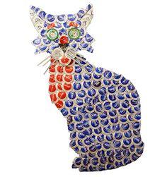 Cat Bottle Cap Art