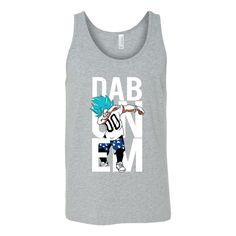 Super Saiyan Goku God Dab Unisex Tank Top T Shirt - TL00497TT