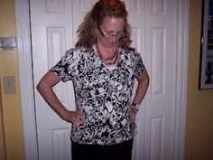 I worked long and hard on this blouse.  I love how it turned out!