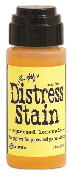 Tinta Distress Stain Squeezed Lemonade