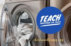 independent-living-skills Teaching special education Life Skills Classroom, Teaching Social Skills, Student Teaching, Teaching Resources, Special Education Behavior, Life Skills Lessons, Household Chores, Rock Stars, Students