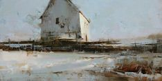 Tibor Nagy - Silence- Oil - Painting entry - August 2013 | BoldBrush Painting Competition