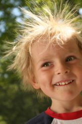 Does Hair Color Affect Static Electricity? | Education.com