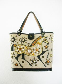 Vintage Enid Collins Gift Horse Purse.