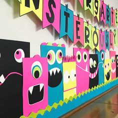 Monsterously Fun Bulletin Board - Differentiated Kindergarten