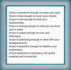 Thoughts on Grace / Kyle Idleman