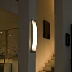 Strip wall/ceiling light #modern #Lighting #ceilinglight #interiordesign Italian Lighting, Modern Lighting, Stripped Wall, Wall Lights, Ceiling Lights, Modern Light Fixtures, Home Decor Styles, Household Items, Modern Ceiling