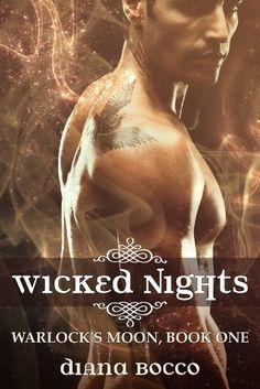 Wicked Nights (Warlock's Moon, Book One) by Diana Bocco, http://www.amazon.com/dp/B009VPG0YU/ref=cm_sw_r_pi_dp_J-WMqb1KPTF89 (Hot erotic novella free - 11/07/12)