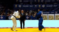 "themsleeves: "" letsplayjudo: ""Shori Hamada (JPN) Grand Prix Zagreb 2017 gyaku ude garami to sumi / hikikomi gaeshi to ude gatame "" Highest level judo work… beautiful, awesome skills… "" Another amazing transition from Hamada (JPN)"