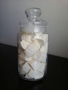 Confeitando com a Maré: Marshmallow Caseiro (Homemade Marshmallow)com receita PORT