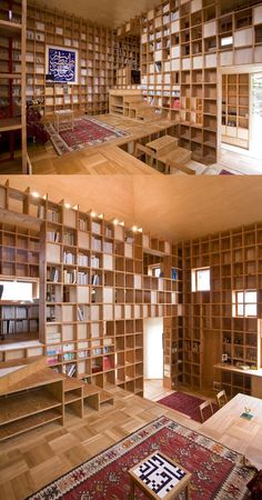 Dream house for book lovers