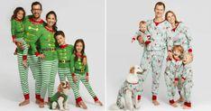 family dog christmas pajamas - Google Search Elf Pajamas, Halloween Pajamas, Matching Family Christmas Pajamas, Matching Pajamas, Target Style, Merry And Bright, Pajama Set, Christmas Morning, How To Wear