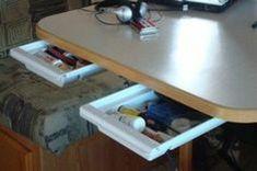 62 Aliner Camper Interior Storage Modifications 06