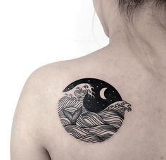Caitlan Thomas - Wolf and Wren Tattoo Collective, Adelaide, Australia
