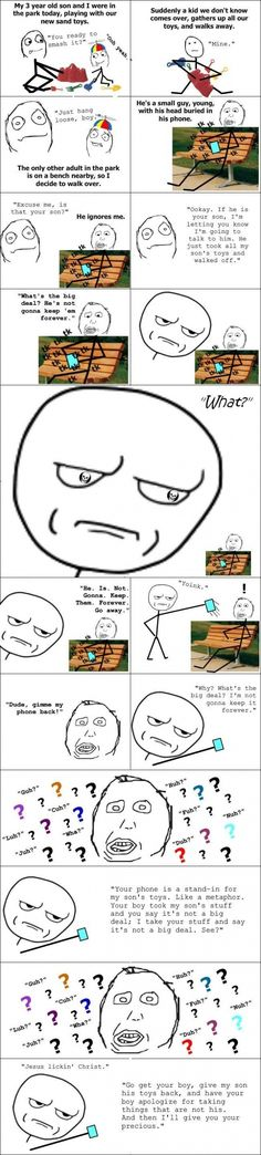 I hate people like that