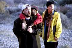 13.  'Jay and Silent Bob Strike Back' (2001) R -    Kevin Smith & Jason Mewes.  -  The comic 'Bluntman and Chronic' is based on real-life stoners Jay and Silent Bob, so when they get no profit from a big-screen adaptation they set out to wreck the movie.  -  COMEDY  -  © Dimension/Everett/REX