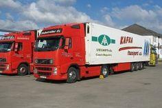 Vozový park Truck Paint, Volvo Trucks, Transportation, Park, Parks